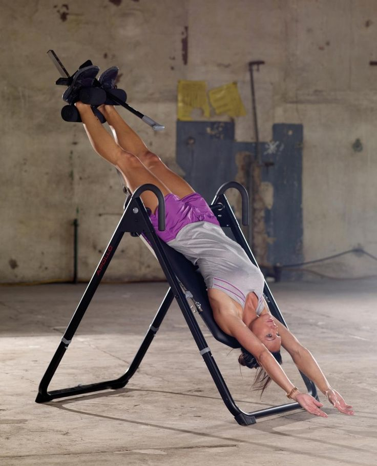 17 best ideas about inversion table on pinterest sciatica relief sciatica stretches and back. Black Bedroom Furniture Sets. Home Design Ideas