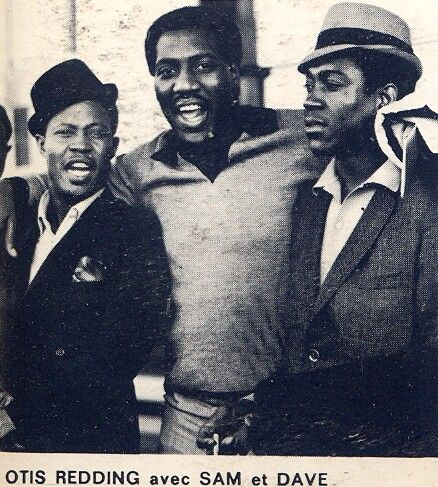 Otis Redding with Sam & Dave :-)