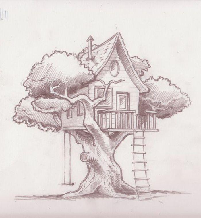 ▷ 1001 + Ideen zum Zeichnen eines wunderbaren Baumes mit Beispielen