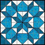 Quilts To Be Stitched - Eight patch quilt patterns - Jewels in a Frame