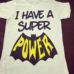 TSHIRT SUPER POWER