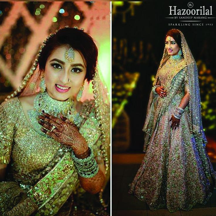 Gorgeous sunaina in Hazoorilal by Sandeep Narang on her most special day ! #HazoorilalBySandeepNarang #HLbySN #Hazoorilal#HazoorilalBrides #WeddingJewellery #BridalJewellery #HLbySN #Hazoorilal #ITCMaurya #DlfEmporio #HazoorilalJewellersGK