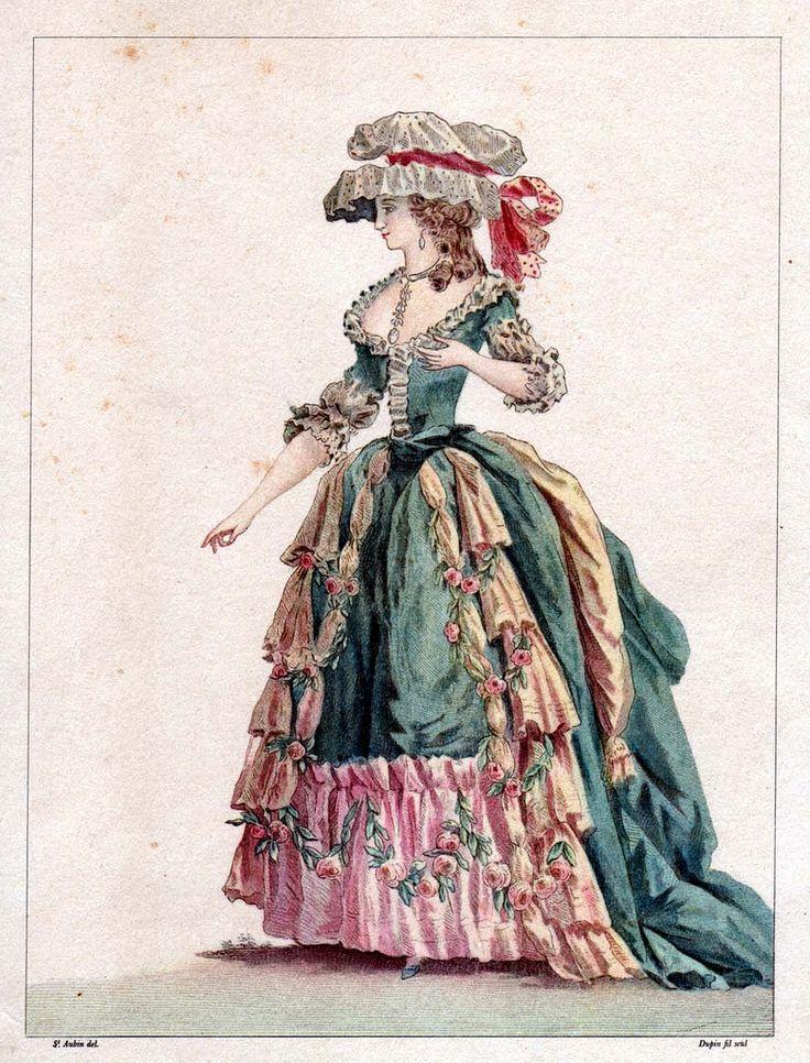 18th Century Fashion Plate 14