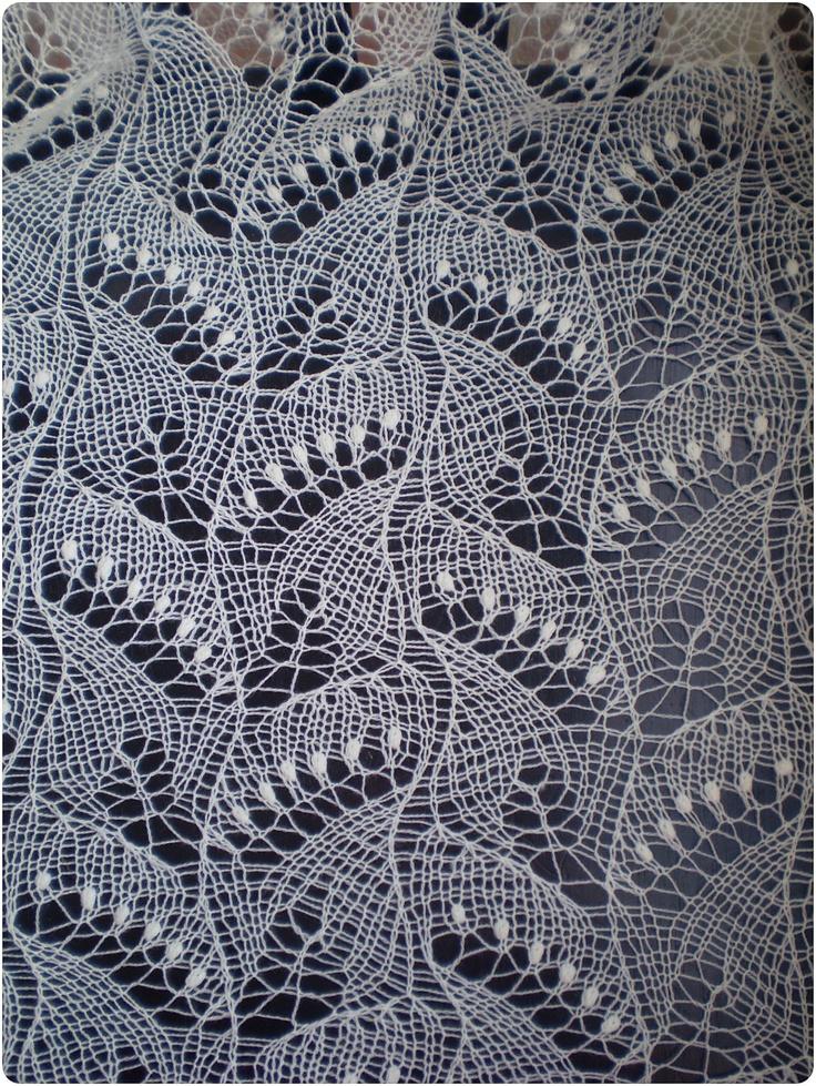 Famoso Estonian Lace Knitting Patterns Free Galera Manta De Tejer