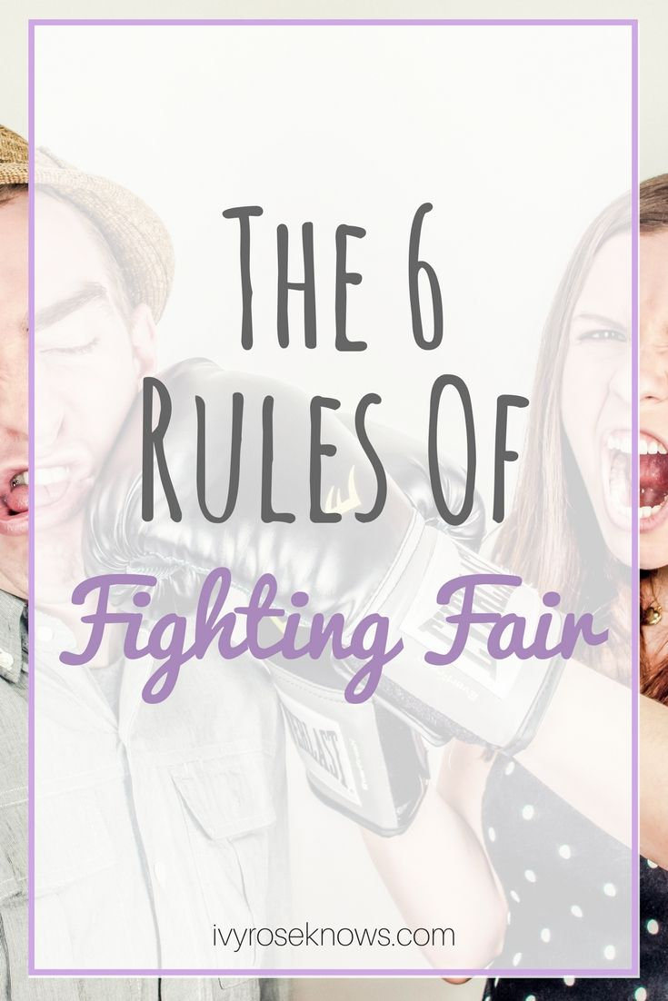 Relationship advice, communication, fighting fair in relationships
