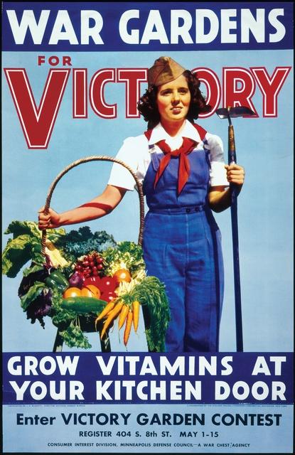 war gardens for victory grow vitamins at your kitchen door wwii propaganda