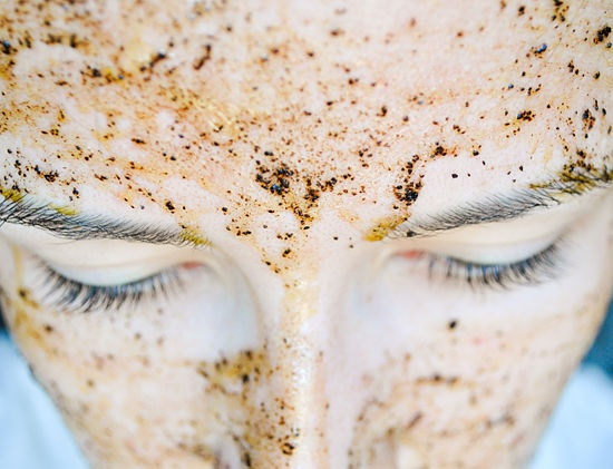 Homemade Honey & Coffee Facial Mask - I heard about it from an esthetician!