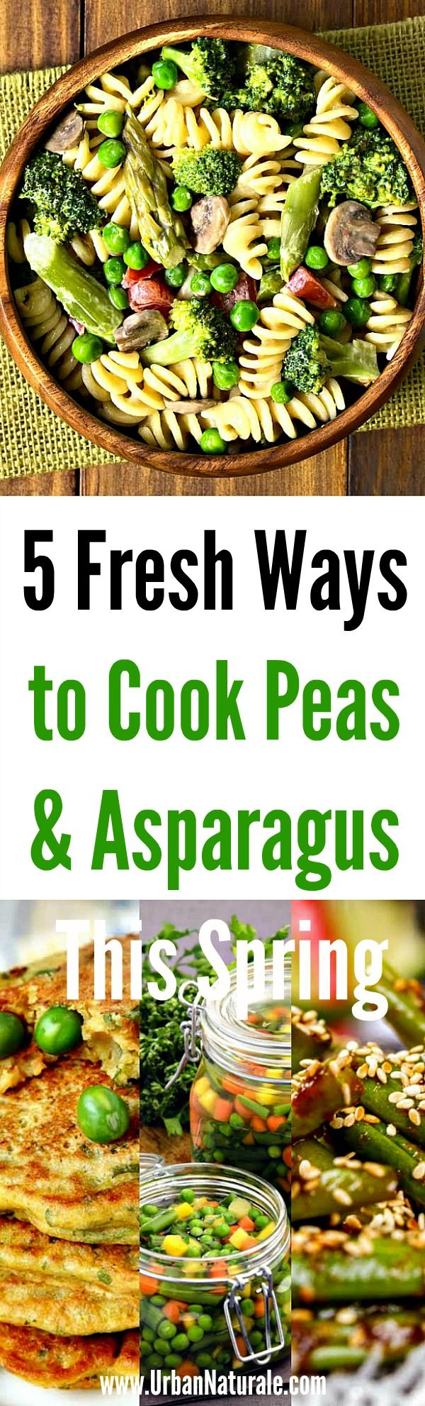 5 Fresh Ways to Cook Peas and Asparagus This Spring