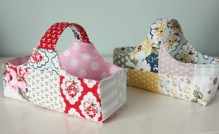 Fabric Basket and Fabric Eggs Tutorials - Diary of a Quilter - a quilt blog