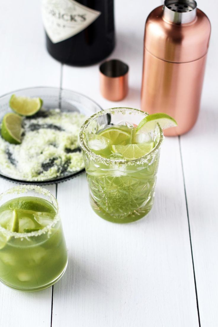 Cucumber Gin Cocktail.
