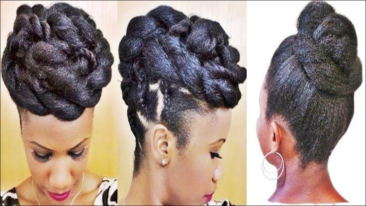 Black Updo Hair Styles: 25+ Gorgeous Black Updos Ideas On Pinterest