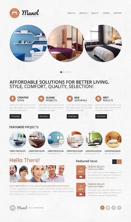 #Furniture Theme #responsiveDesign $69