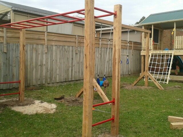Charmant Dfr Installed This Backyard Playground Jan