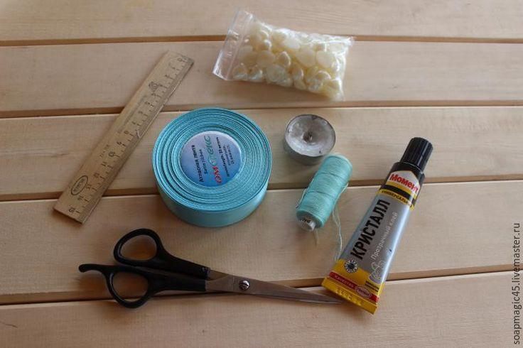 Мастерим красивые бантики из атласных лент - Ярмарка Мастеров - ручная работа, handmade