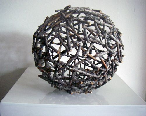 Lady Bidouille: DIY : Boule de branches // blog is for invited people only //