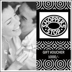 Bangalore Shopper Stop Gift Voucher