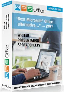 WPS Office 2016 (previously Kingsoft Office) is the powerfull office suite, which can open any record sort completely perfect with Microsoft Office as well as recovery your archives as a PDF. It incorporates three best in class office programs: Word content processor, Presentation maker and Spreadsheet program for information preparing and information examination. It permits you to make reports, tables as well as presentations.