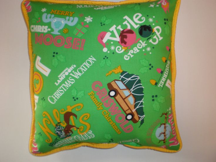 Griswold Christmas Vacation Pillows by GoughGoodies on Etsy