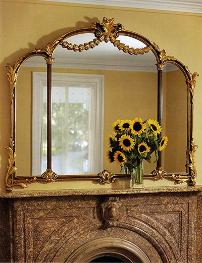 1000 ideas about over fireplace decor on pinterest for Mirror for above fireplace mantel
