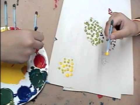 ETAPA DEL GARABATEO CON NOMBRE ( 2-4 AÑOS) Realiza dibujos y los pinta con los dedos mediante una tecnica sencilla.
