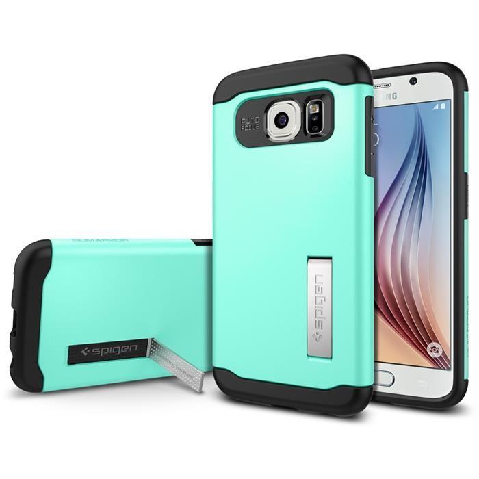 SPIGEN Slim Armor Skal till Samsung Galaxy S6 - Mint