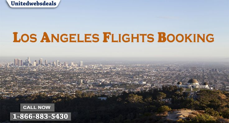 Unitedwebsdeals offers upto 70% off on flights to Los Angeles (LAX) and Airline Ticket Deals from United Airlines, Delta and more.Booking cheap flight and get more discount in every flight like United Airlines, American Airlines, Delta Airlines.Book your cheap United Airlines flight and get discount upto 70% on your United Airlines reservation.Book Now-1-866-883-5430!