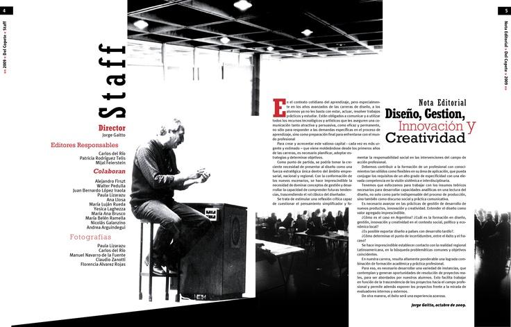 Trabajo final - Tipografía II - Cátedra Gaitto - Revista de la Cátedra - 4-5
