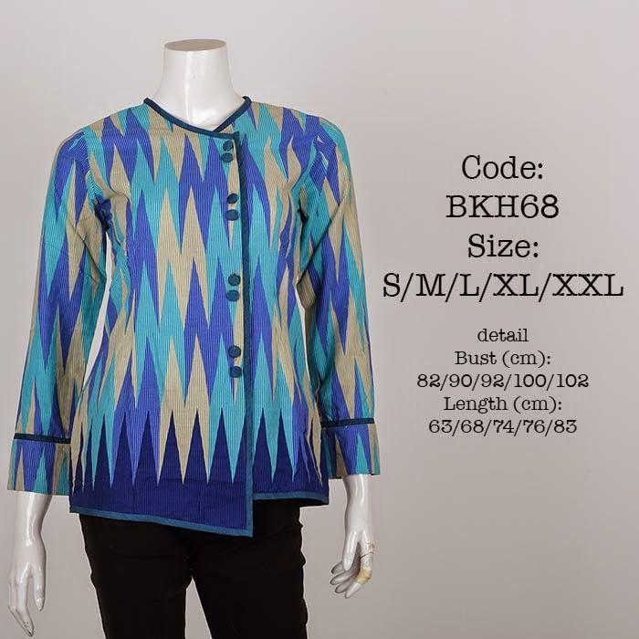 Blus Batik motif Rangrang