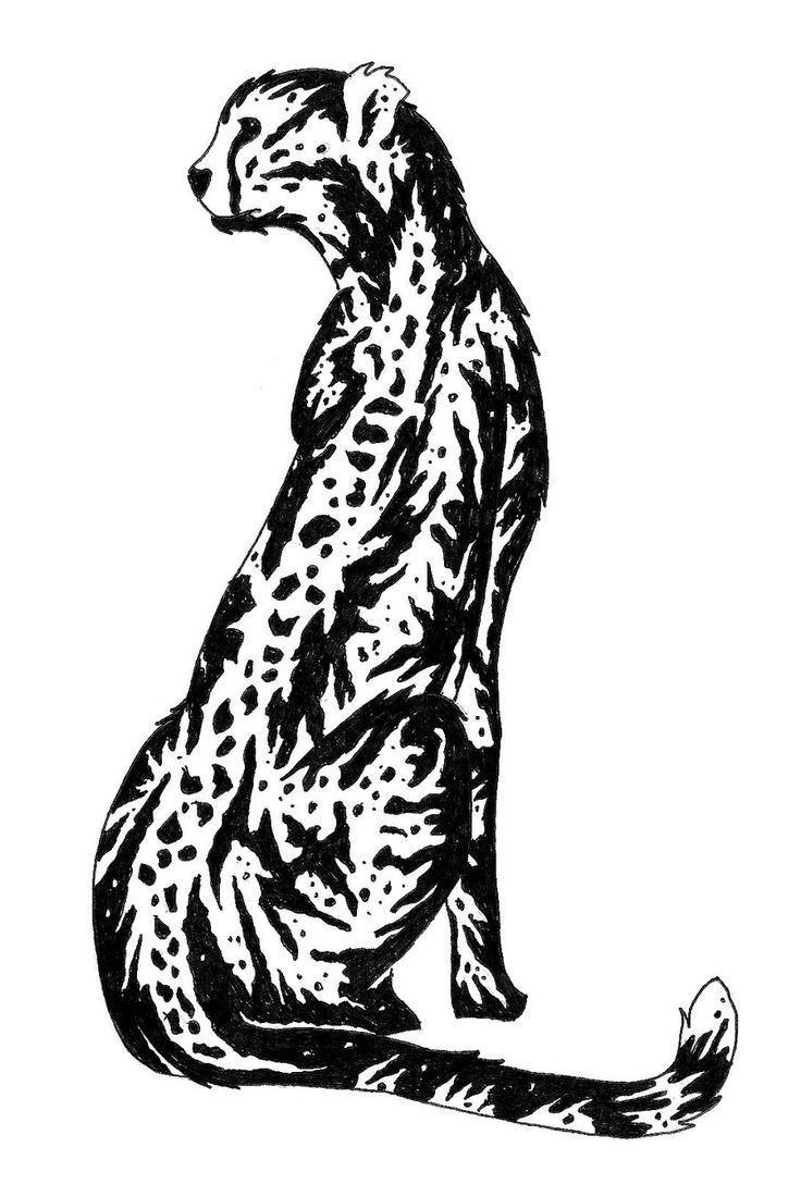 Cheetah by designerdragon.deviantart.com on @deviantART