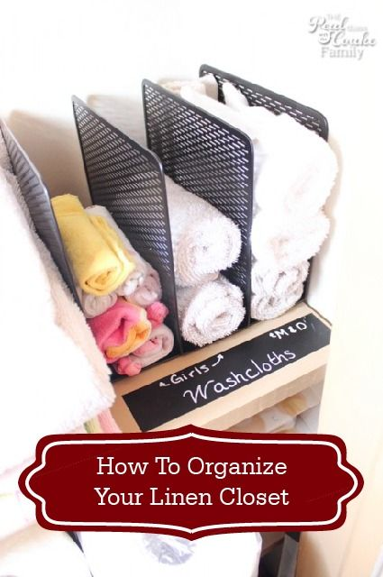 Nothing beats a de-cluttered closet! Learn how to organize your linen closet with these brilliant, simple, and stylish storage tips. They'll help you maximize even the smallest spaces in your home!
