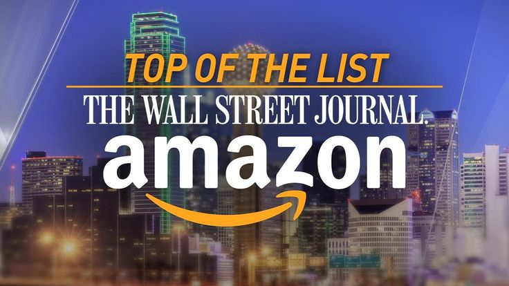 The Dallas Fort Worth area is the best fit for Amazon's second headquarters, according to an analysis by the Wall Street Journal.