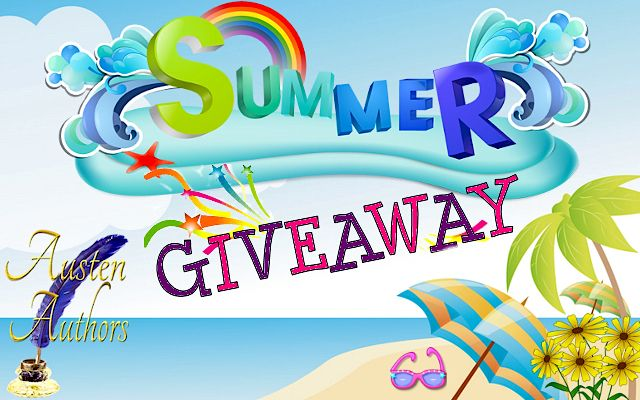 Enter the Austen Authors Summer Giveaway for the chance to win lots of great prizes!