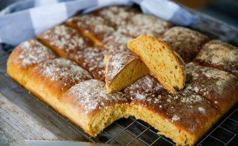 Perfekt morotsbröd i långpanna! Smakrikt och saftigt!