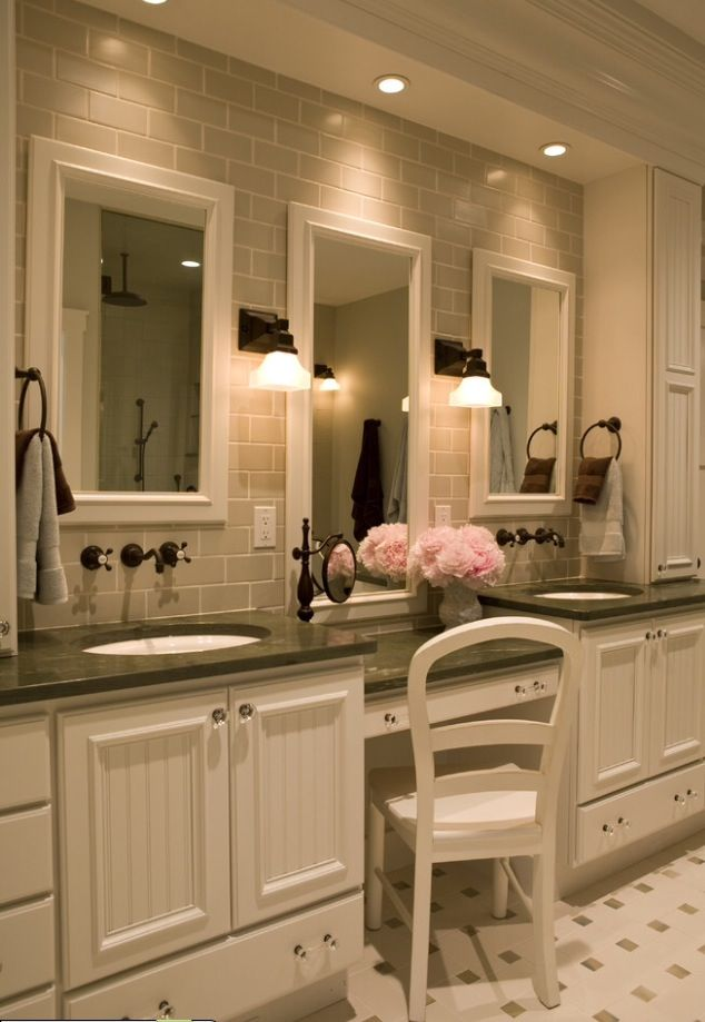 15 Best Bathroom Vanity Alcove Images On Pinterest