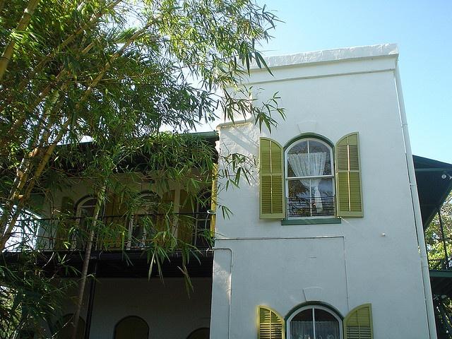 Back Porch Ernest Hemingway House Key West Florida