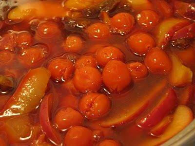 Traditional Norwegian Fruit Soup