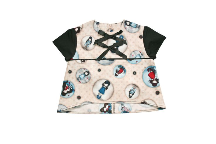 Girl Print Top, Girls Clothing, Baby Girl, Birthday Parties, gift ideas by MollylovesBowieKIDS on Etsy