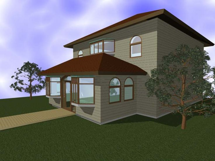 Exterior House design.  Another service found at: http://brightsimply.com/store/products/house-design/
