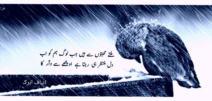 Atbaf Abrak Urdu Poetry Collection