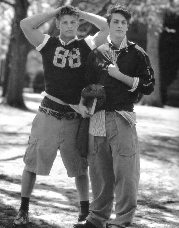 Chris Carmack and Nick Clark by Bruce Weber for Abercrombie & Fitch (Fall 2000) #ChrisCarmack #BruceWeber #NickClark #malemodel #model #actor #af #anf #abercrombie #abercrombieandfitch #bw #nyc