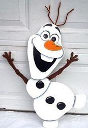 Olaf Yard Decoration
