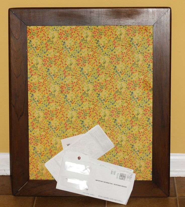 Framed Fabric Corkboard Tutorial | Little BGCG: Washington, D.C Mom Blogger
