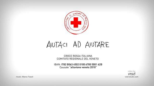 Client: CRI - Italian Red Cross  Short film to raise funds for the flood victims of the veneto region.  Void: Concept, illustration, animation Marco Fasoli: Sound design