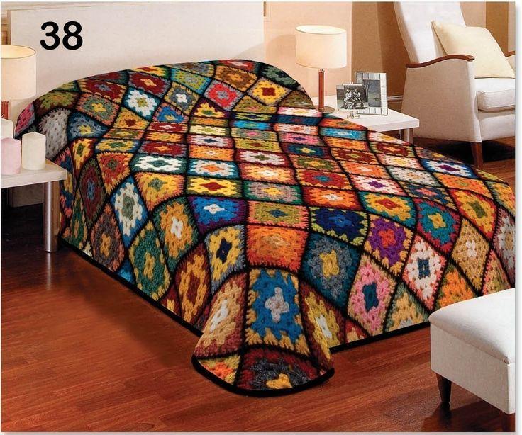 Denní barevná deka na postel pro děti