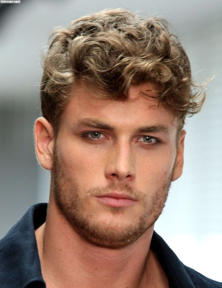 Curly Hairstyles For Men 2016