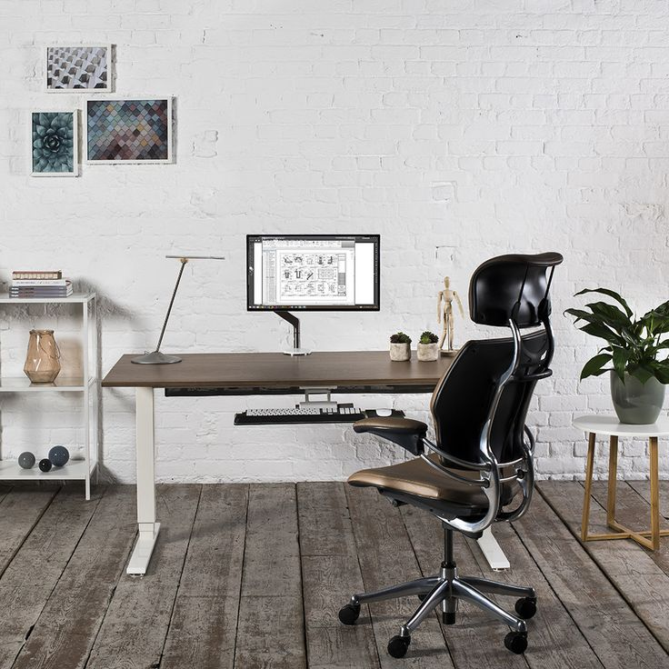 Add Ultimate Luxury To Your Home Office With This Freedom Headrest Office  Chair From Humanscale.
