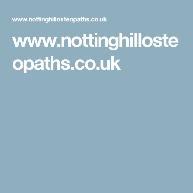 www.nottinghillosteopaths.co.uk