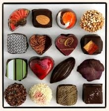 St. Valentine Collection made with Valrhona Chocolate
