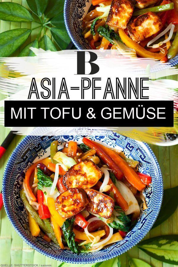 Asia Pfanne Mit Tofu Weisskraut Ist Auch In Der Asiatischen Kuche Ein Beliebtes Gemuse In Diesem Vegetari Tofu Asiatische Rezepte Vegetarisches Pfannengericht