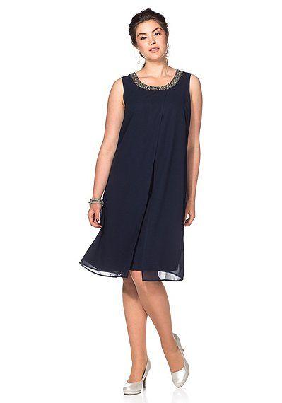 Sheego Style Kleid - marine | sheego XXL-Mode